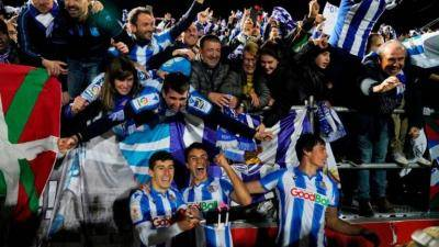 [VIDEO] Real Sociedad qualify for Copa Del Ray final for the first time in 32 years
