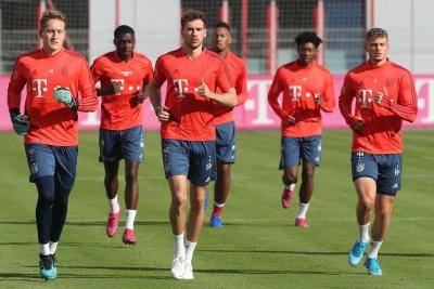 Bayern return to training in small groups