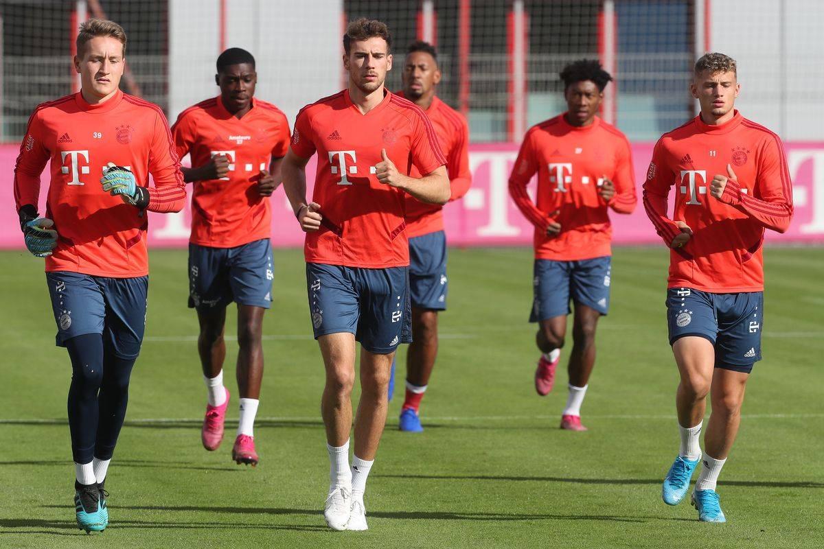 Bayern Training