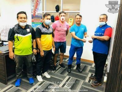Langkawi FC beri sumbangan kepada barisan hadapan COVID-19