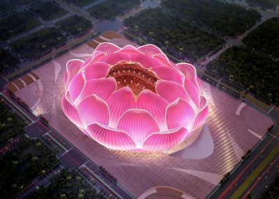 Guangzhou Evergrande currently building the largest football-only stadium in the world