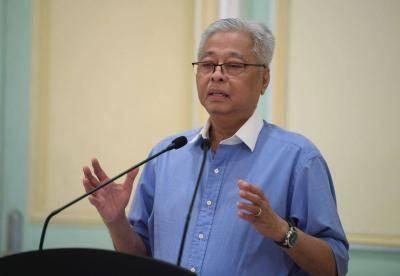 Menteri Kanan Datuk Seri Ismail Sabri Yaakob mengatakan tidak untuk perlawanan bola sepak