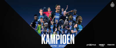Club Brugge finally declares Belgian champion