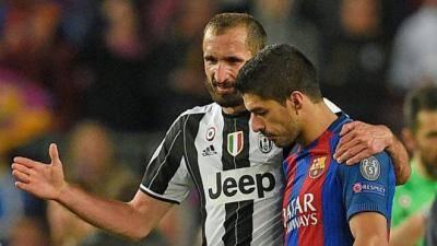 [VIDEO] Giorgio Chiellini: Even though Suarez bite me, he is a smart striker