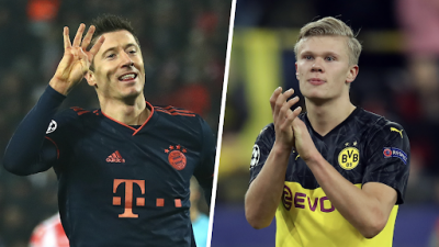 Remain in Bundesliga, Lewandowski tells Haaland