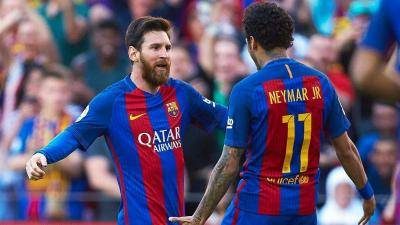 Joan Laporta reacts to Neymar's comments about Messi reunion
