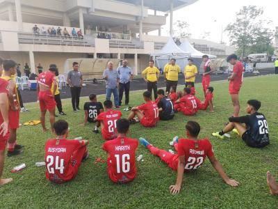 Negeri Sembilan pasukan pertama Liga Malaysia dibenarkan berlatih