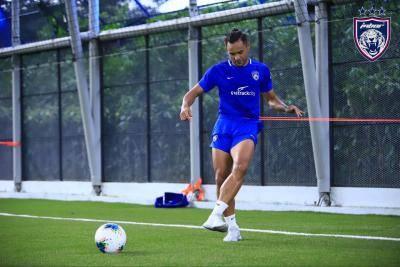 Aidil Zafuan: Gembira dapat berlatih semula dengan rakan-rakan di JDT