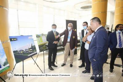 Bandar Bolasepak di Putrajaya bakal siap sepenuhnya pada 2023