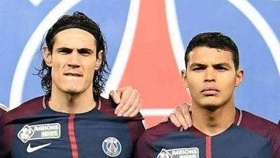 [VIDEO] The beautiful end of Edinson Cavani and Thiago Silva at PSG