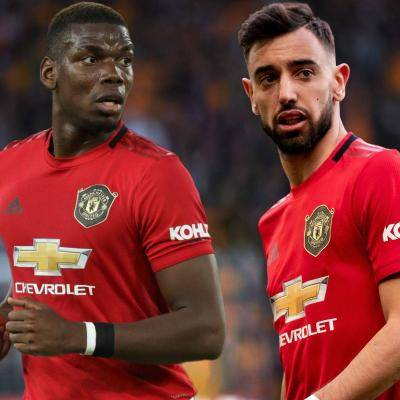 Bruno Fernandes and Pogba first time try-out in midfield in anticipation of match against Tottenham