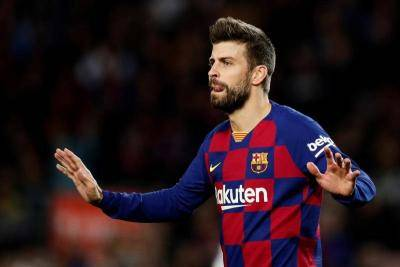 Gerard Pique clashes with manager Quique Setien over Barcelona-Real Madrid La Liga title battle