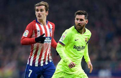 Lionel Messi Feud With Antoine Griezmann Intensifies As Barcelona Fails To Defeat Sevilla