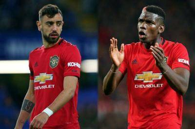 Paul Pogba's reaction to Bruno Fernandes penalty says it all