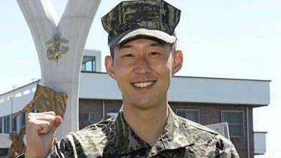 [VIDEO] Son Heung-min enjoys his life in military
