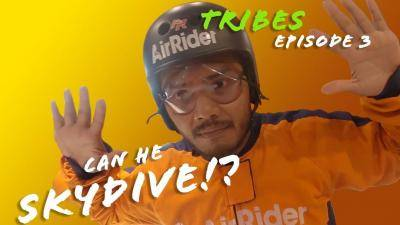 [VIDEO] What happens when a Malaysian football legend is forced to skydive?