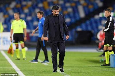 Napoli coach Gattuso says, 'Barcelona has one player, named Messi…'