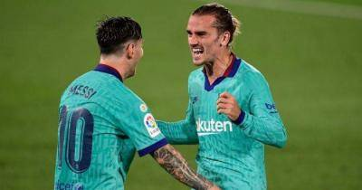 Griezmann mendapat pesanan kuat dalam perbincangan pertarungan dengan Barcelona