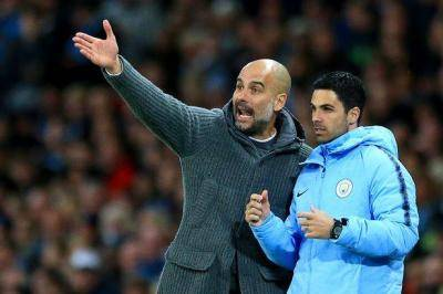 Manchester City boss Pep Guardiola targets surprise dig at Arsenal