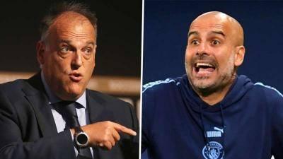 'Tebas must be so jealous!' – Guardiola slams La Liga president