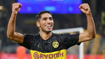 Achraf Hakimi to join Inter for 50 million euros
