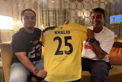 Kerajaan Perak tekad bantu pemain berjasa, termasuk Khalid Jamlus