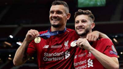 Lallana, Lovren leaves Liverpool after title-winning season
