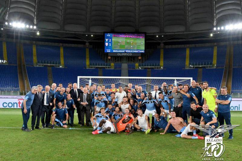 After 13 years, Lazio finally qualifies for Champions League again ...