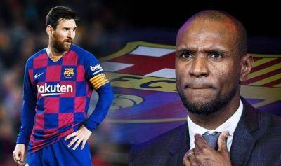 Sporting Director Eric Abidal hoping to install his 'experienced compatriot' to take over at Barcelona