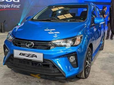 Drive to the sports centre with Perodua Bezza!