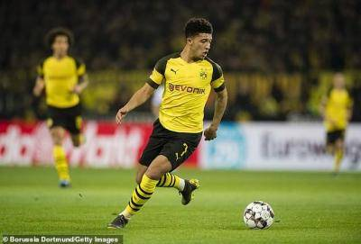 Jadon Sancho breaks silence and hints his future is at Borussia Dortmund