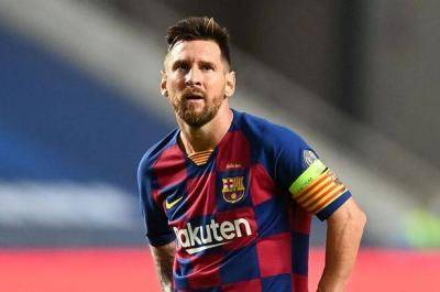 A determined Lionel Messi 'tells Barcelona he wants to leave immediately' after crisis talks