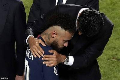 PSG president Nasser Al-Khelaifi insists his French side will be back soon for Champions League glory – a tongue-in-cheek Messi hint?