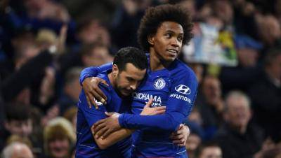 [VIDEO] End of an era: Willian, Pedro leaves Chelsea