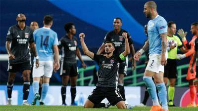 UCL: Lyon through to semi-final, Guardiola and Man City fail again
