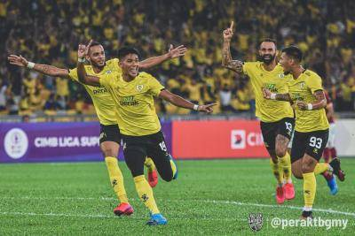 Kurang perlawanan Liga Super, peluang Perak rampas takhta dari JDT?