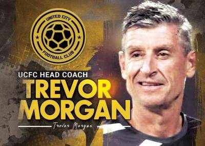 Trevor Morgan appointed as head coach of United City FC