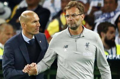 Jurgen Klopp and Pep Guardiola snubbed as Zinedine Zidane named world's best manager