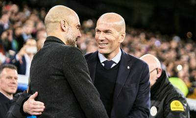 What Pep Guardiola said to Zinedine Zidane in post Champions League match chat