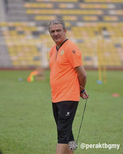 Mehmet Durakovic dedah sebab sebenar Perak kalah besar 7-0 kepada JDT