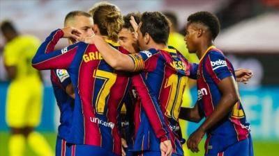 Ansu Fati bermain dengan penuh cemerlangan dalam kemenangan 4-0 Barcelona ke atas Villareal