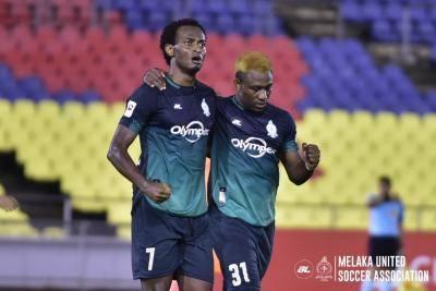Melaka United players negative COVID-19