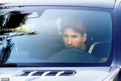 Messi kembali jalani latihan bersama Barcelona