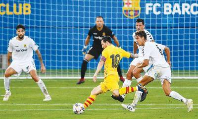 Messi plays for 45 minutes in Barcelona win over Tarragona