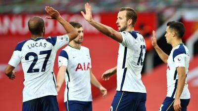 Kane dan Son bantu Tottenham malukan Manchester United 6-1