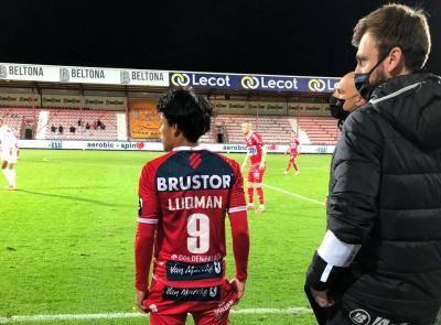 Luqman Hakim debut buat pertama kali dengan KV Kortrijk