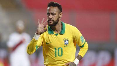 Neymar says calling him the best Brazilian player since Pele is premature