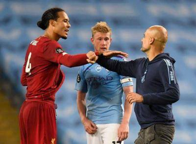 Guardiola's reaction to Liverpool's Virgil van Dijk injury blow