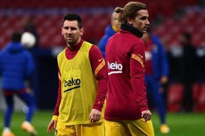 Griezmann menghentam balik atas komen yang 'merosakkan' Lionel Messi, dengan mengatakan 'Saya sungguh menghormati dia'