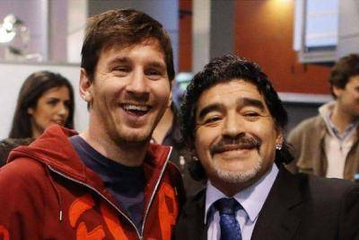 The special relationship between two generational geniuses, Messi and Maradona
